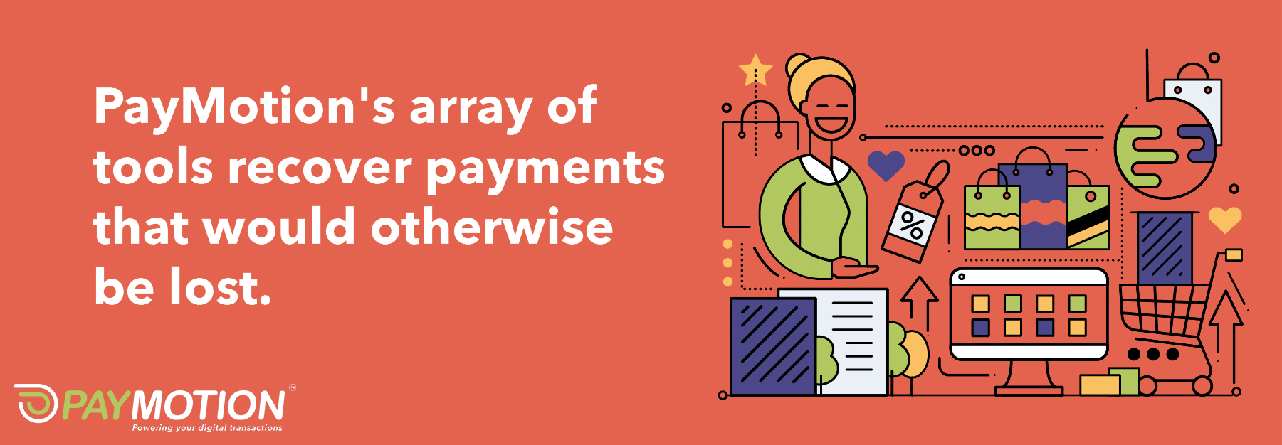 Origins Ecommerce taps into multiple payment gateways, increasing the chances that payments will be successfully processed